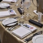 Arcadia merch at the UDIA dinner