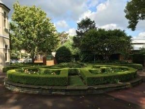 Newmarket house 2formal garden