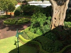 Newmarket house gardens